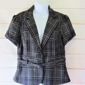 Maurices Jacket/Blazer With Belt, Size Large